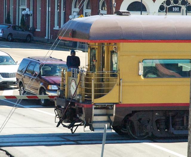 Private Rail Car Promontory Point Open Rear Platform Flickr
