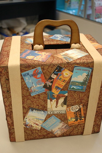 Full View Of Quot Travel Quot Gift Card Box The Luggage Handle