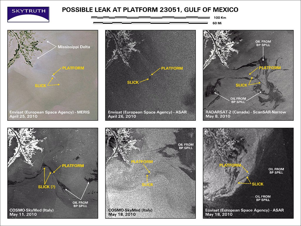 Cosmo Mexico Map.Possible Leak At Platform 23051 Gulf Of Mexico Sequence O Flickr