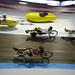 Indoor racing in the Velodrome