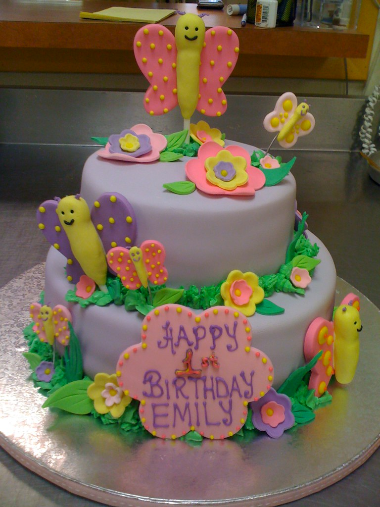 Image Result For St Birthday Butterfly Cake Ideas