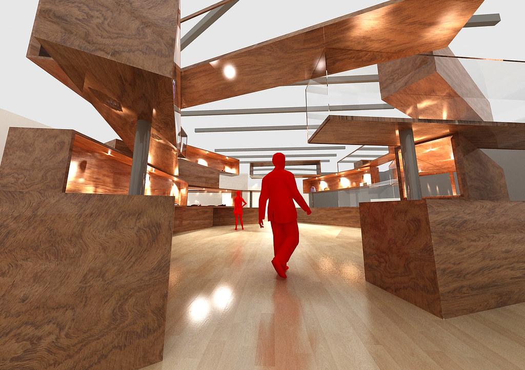 3d Exhibition Design Software : D exhibition design harry nguyen flickr
