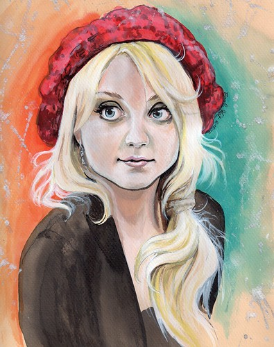 Evanna Lynch [Luna Lovegood] | by SarahKristin