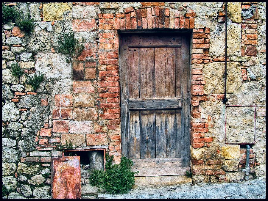 ... Italian Doors #5, Monteriggioni | By H_roach