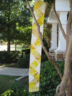 Jamie's color strip qullt - Yellow | by Amy loves Bud