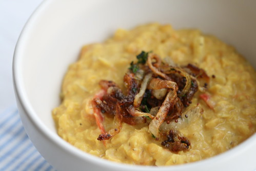 Coconut dhal with crispy onions / Kookospiima-dhal krõbedate sibulatega | by Pille - Nami-nami