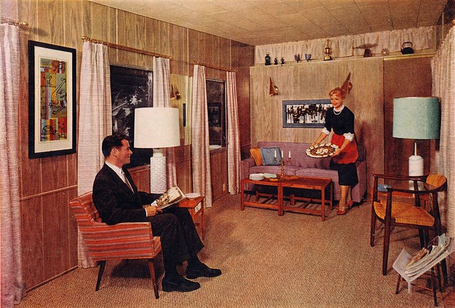 It S 1959 Mobile Home Interior Life Magazine Ad By