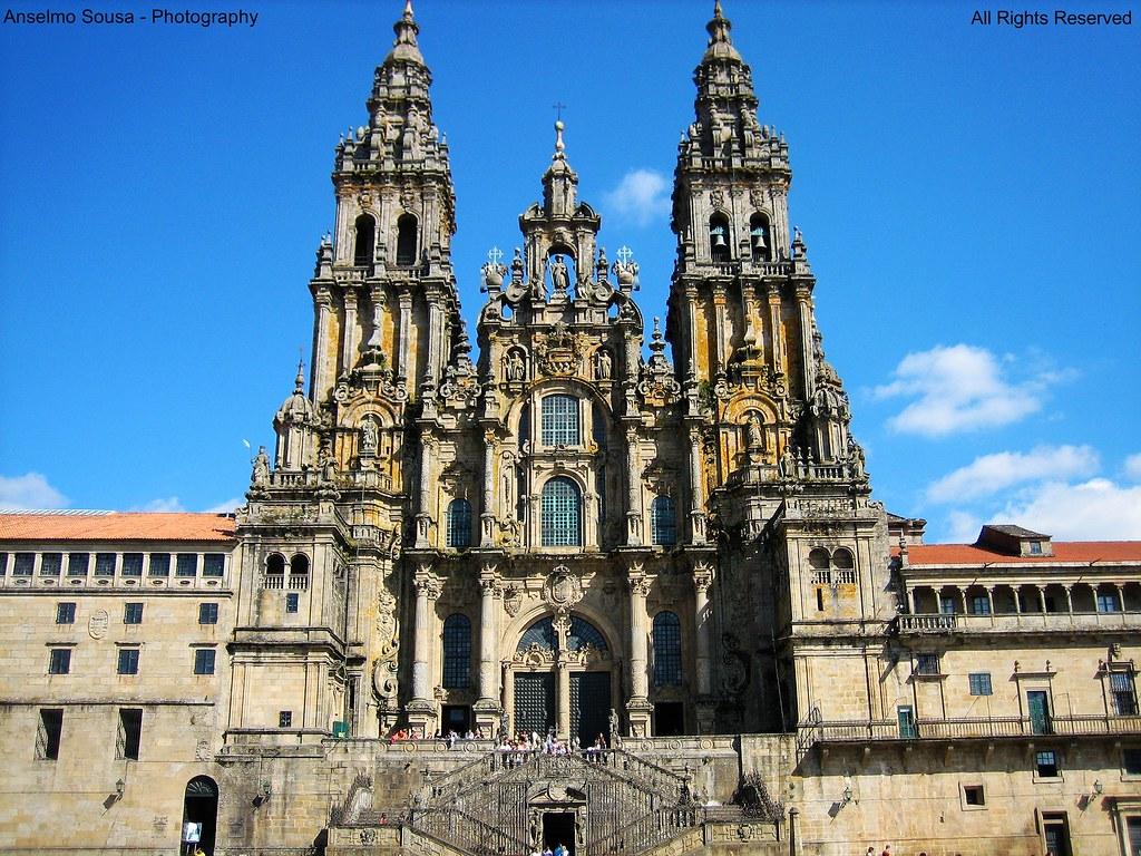 Espanha catedral de santiago de compostela santiago de - Arrokabe arquitectos santiago de compostela ...