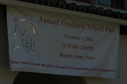 Annual Graduate School Fair Sign | by California State University Channel Islands