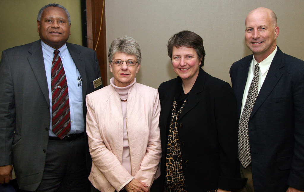 Deputy Secretary Merrigan With Arkansas Group Left To