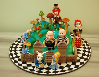 alice in wonderland cake 2009 | by Fatma Ozmen Metinel Cake Designer,Educator