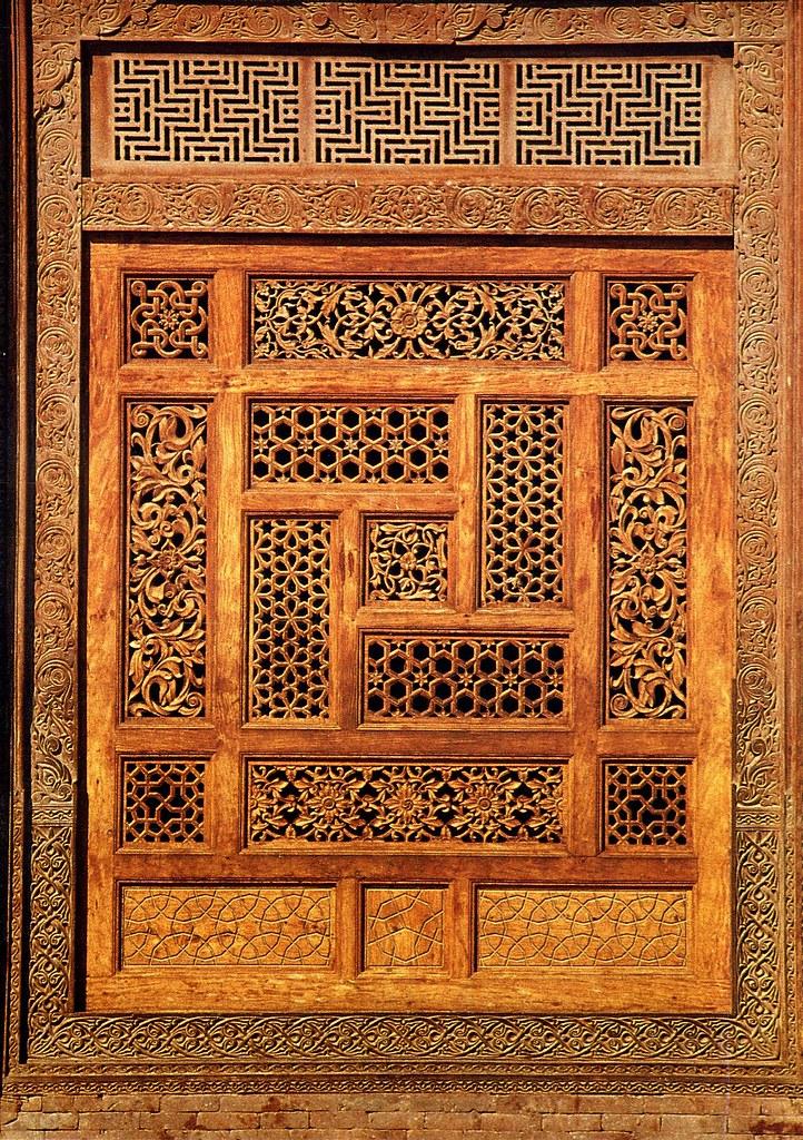 Islamic Art A Wooden Screen In The Mausoleum Of Rukn I