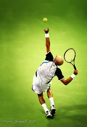 World No.6 seed Nikolay Davydenko from Russia | by marjz.
