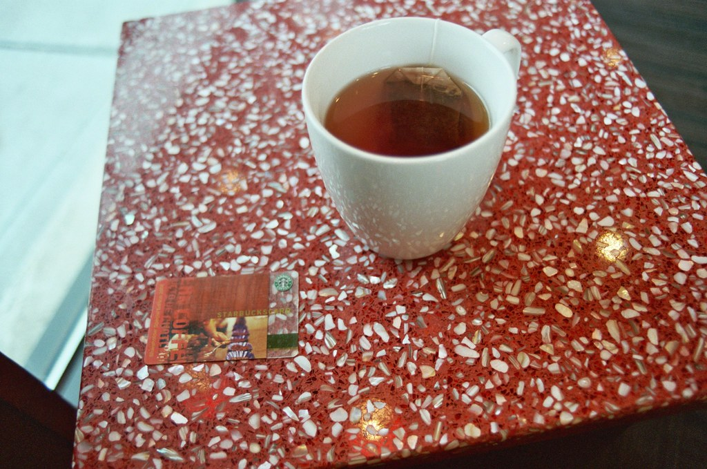 Tea And My Newly Registered Gift Card It S A Special
