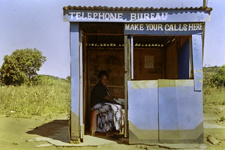 phonebooth,malawi | by Mark William Brunner