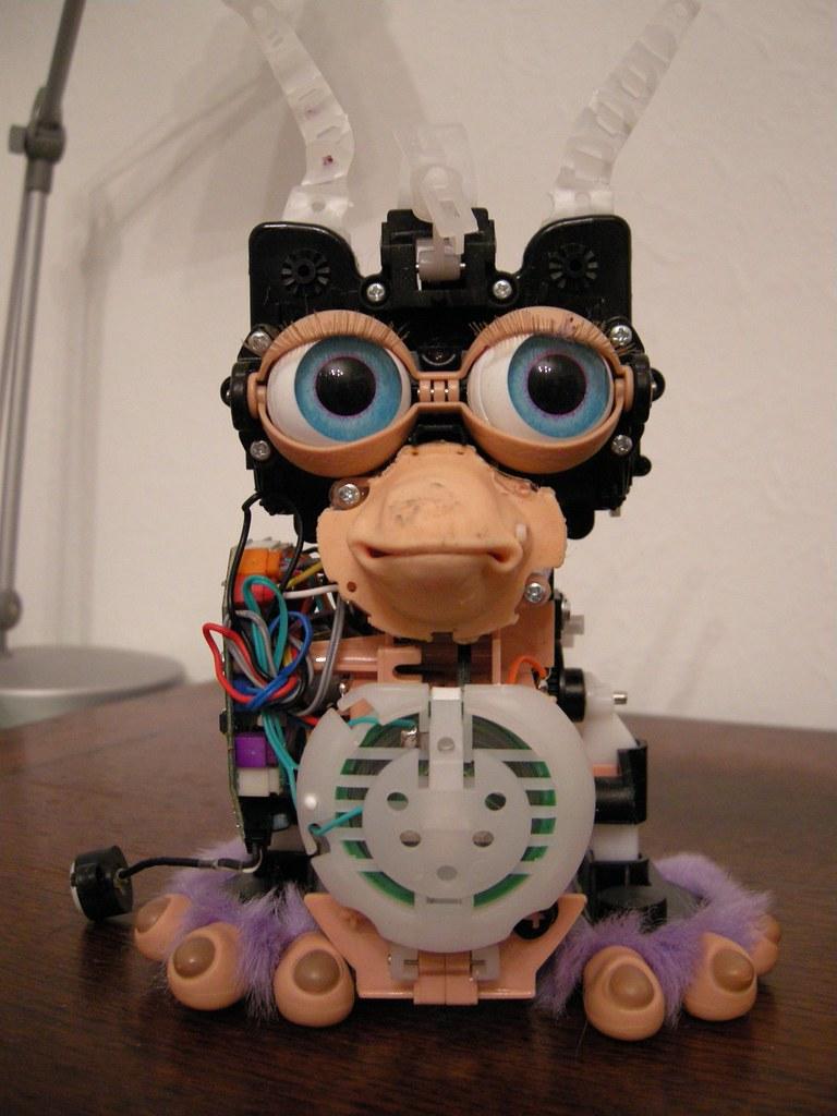 Furby Circuit Bending Bent 8 The Furbinator Youtube A Funky Nikki Pugh 768x1024