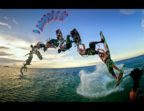 kitesurf - séquence  backmobe | by loic2co