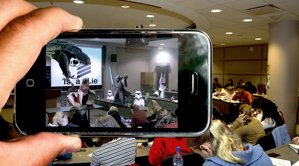 Virtual Classroom Design Free ~ Augmented reality one fine day will