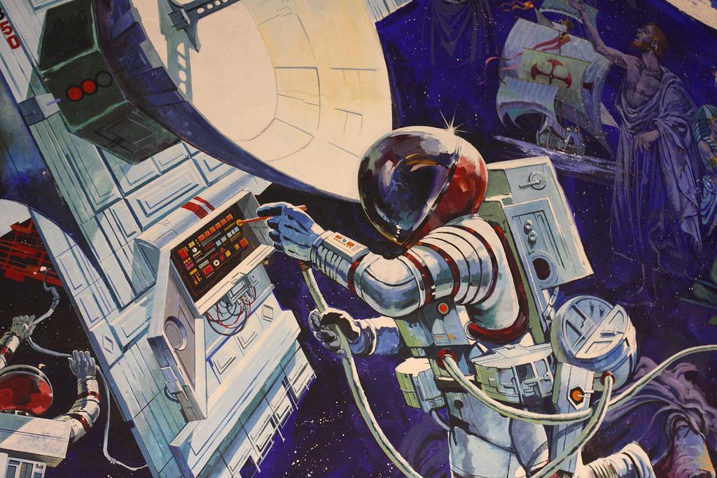 Spaceship Earth Mural 2