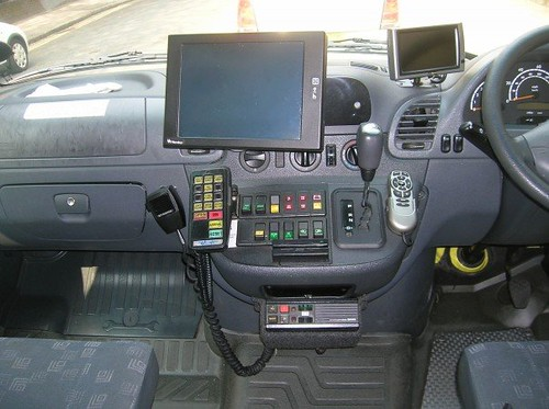Inside Lj53bvg Mercedes Sprinter 416 Cdi Ambulance Flickr