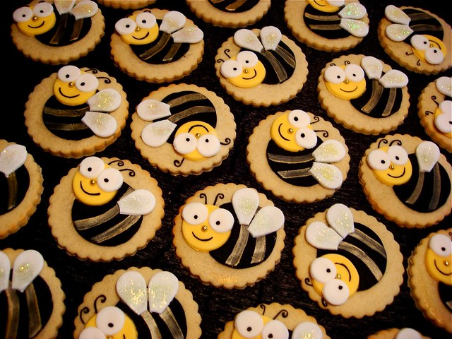 Bumble Bee Cookies Super Cute Bumble Bee Cookies For A
