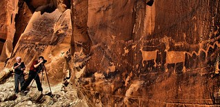 Rock art panel near Bluff, Utah | by Red Dirt Dawg
