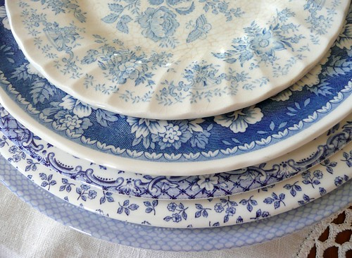 Blue and white dishes | by seaside rose garden