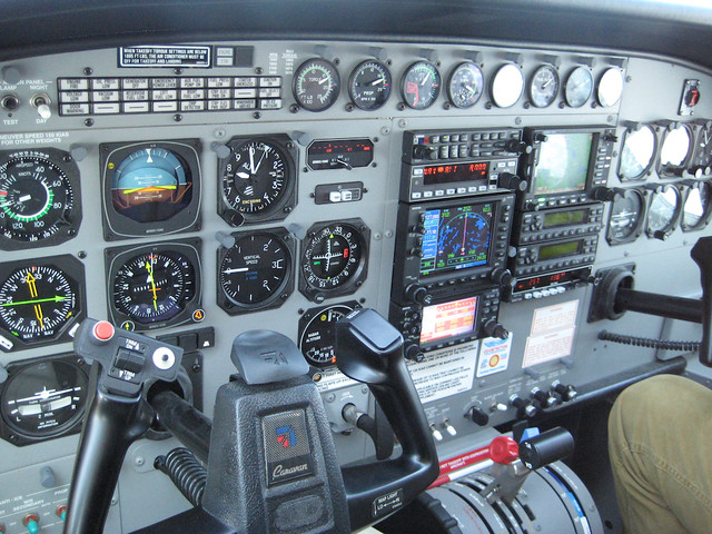 tableau de bord instrument panel cessna 208 caravan 67 flickr. Black Bedroom Furniture Sets. Home Design Ideas