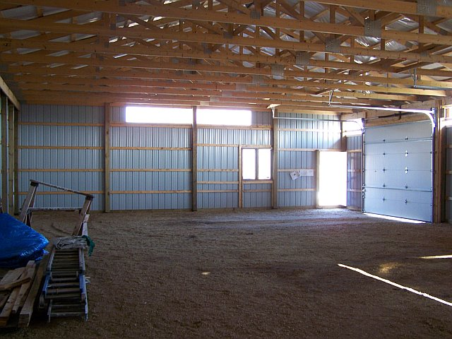 40x60x12 Diy Pole Barn It S Quite Bright This Saves On