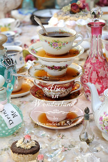 Alice in Wonderland Tea Cups at a Party ~ [Explored] | by Alexandria R. LaNier