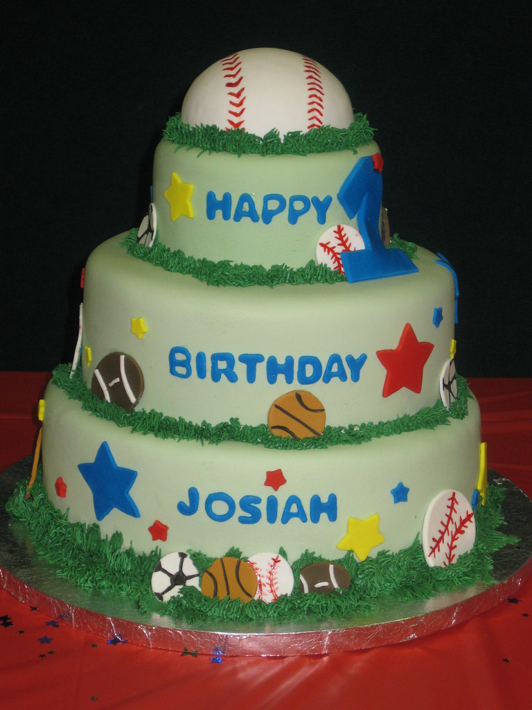 All Star St Birthday Cake Frosted With Emotion Flickr - All star birthday cake