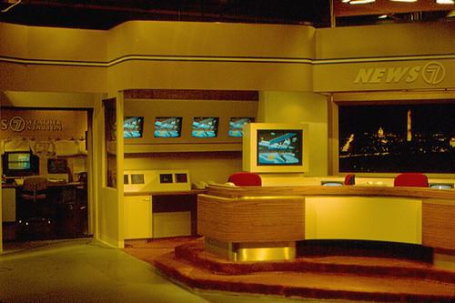 Washington Television News Studio 1984 I Was In A