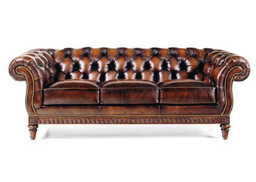 Incroyable ... Hancock U0026 Moore Chancellor Tufted Leather Sofa | By Shubert Design
