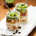 kiwi,coffee and ricotta dessert