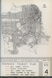 Proposed Transit Plan (1948) | by Eric Fischer