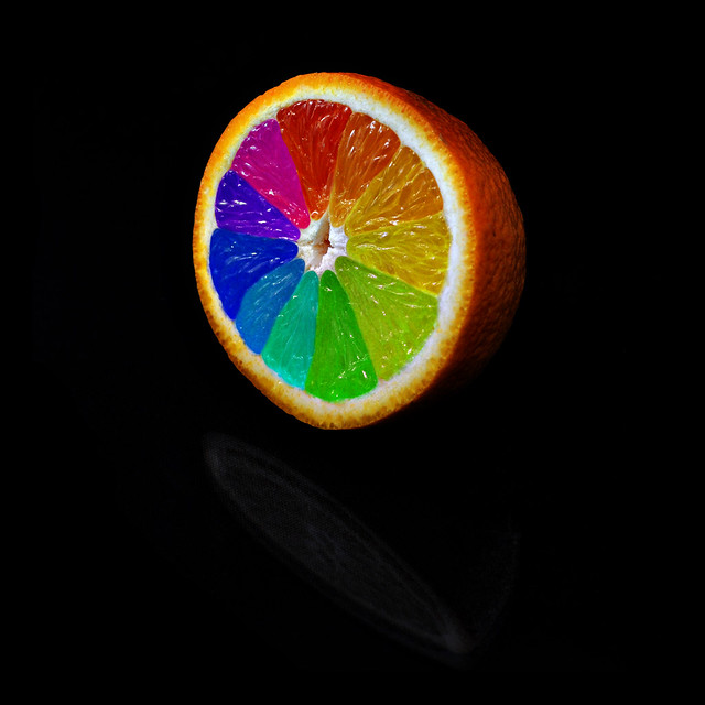 Orange Color Wheel A Very Special Orange Which Is More T