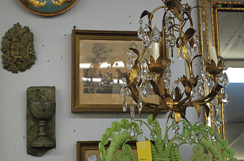 Italian Gilt chandelier | by The Estate of Things