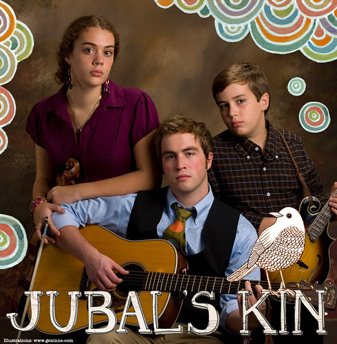 Jubal's Kin CD design | by Geninne