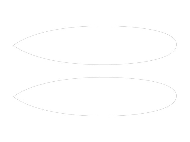 surfboard template a surfboard template to use with ideate flickr