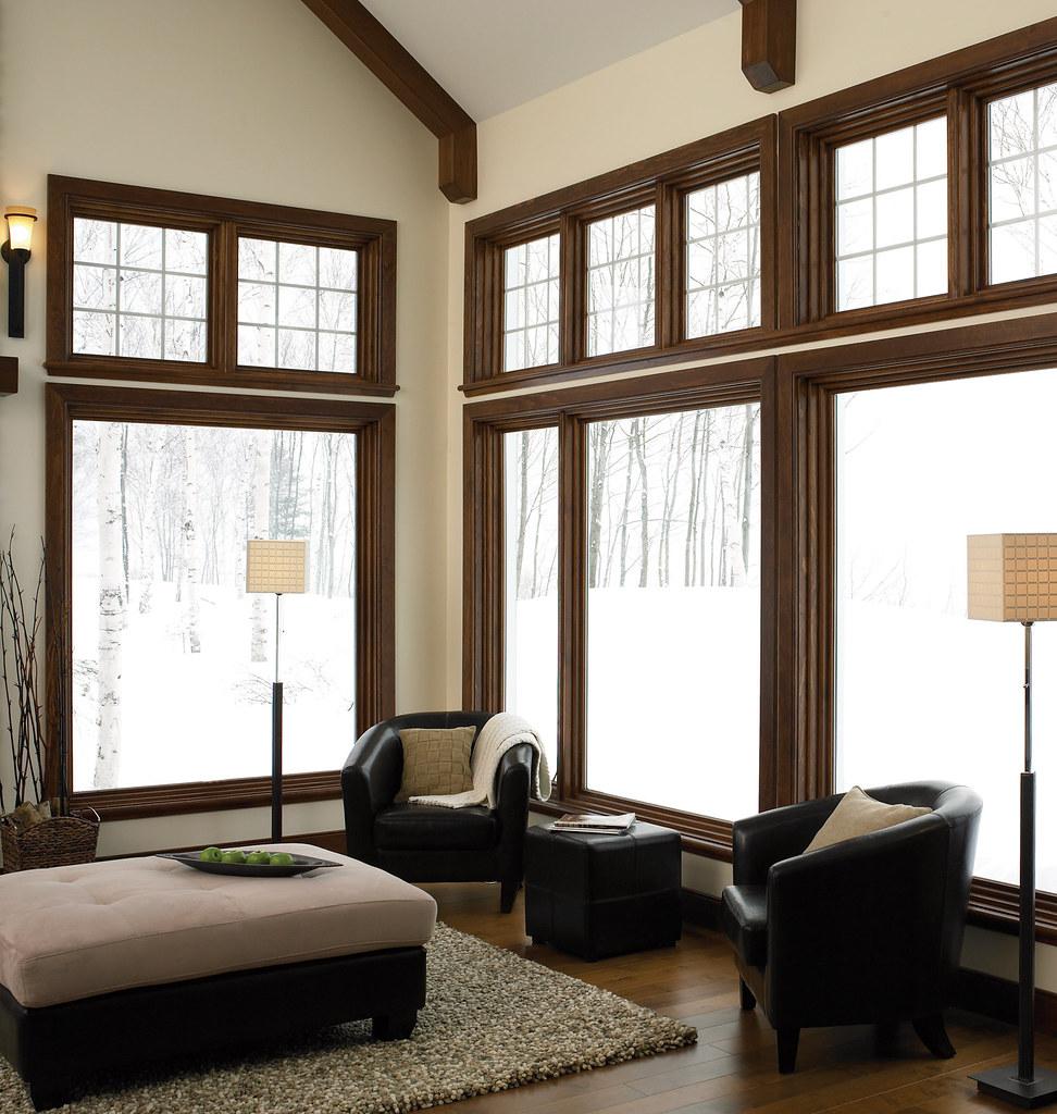 Fixed wood windows jeld wen jeld wen windows df for Habillement de fenetre