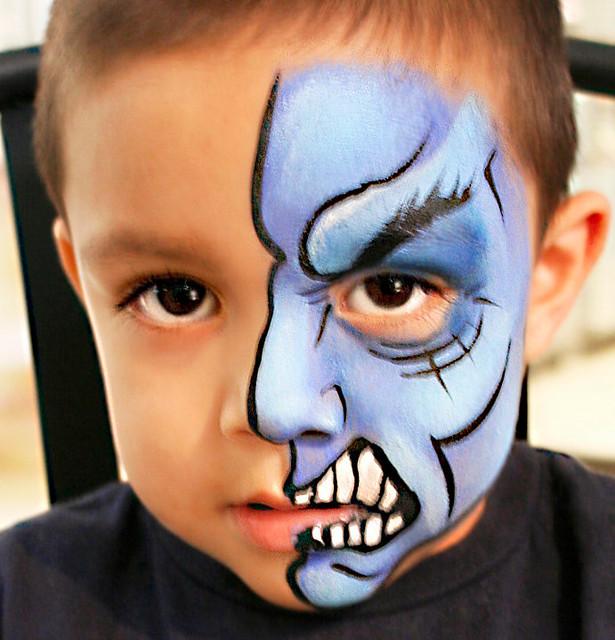 D Face Painting Ideas