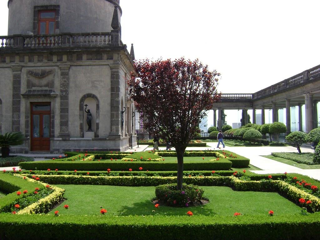 Jard n castillo de chapultepec ciudad de m xico garden for Bares en ciudad jardin