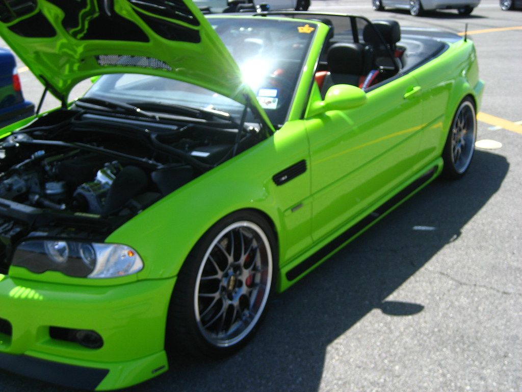Cars Are Us >> LIME GREEN BMW E46 M3 | Prior Design is an Aerodynamic ...