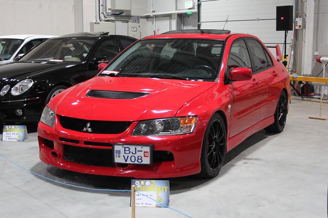 Mitsubishi Lancer Evo IX ´07 | Burnout 2010 car show. | Flickr
