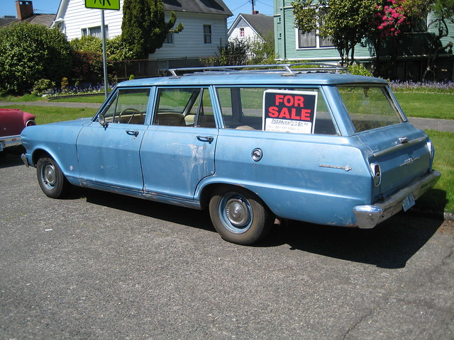 1963 chevy ii station wagon flickr photo sharing. Black Bedroom Furniture Sets. Home Design Ideas