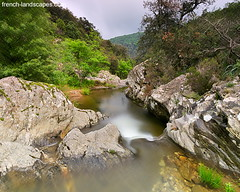 The Verne river by a cloudy springtime | by FrenchLandscapes