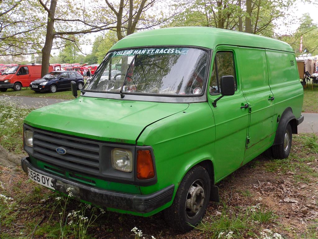 1985 Ford Transit Mkii 2 5 Diesel Lwb Van Great To See