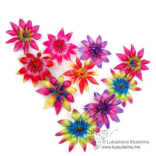 Gloriosa modular origami flowers watch the video tutorial flickr gloriosa modular origami flowers by ekaterina mightylinksfo