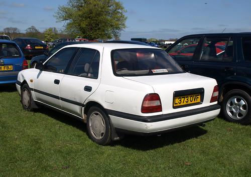 1993 Nissan Sunny 1 6slx Saloon Auto A Bit Dumpy