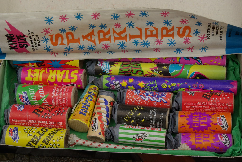 Standard Fireworks colourful selection box   Epic ...